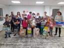 Центр помощи детям Агаповского муниципального района посетили представители благотворительного фонда «Поколение АШАН»