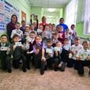 Ученики Наровчатской школы получили знаки отличия ГТО.  Поздравляем ребят и их наставников! 🎈